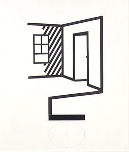 Roy Lichtenstein - Collage for Interior