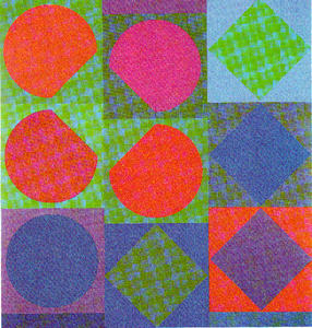Victor Vasarely - Beryll