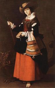 Francisco Zurbaran - Saint Margaret in Antioch