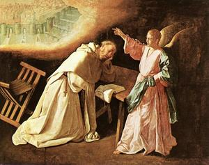 Francisco Zurbaran - Saint Peter Nolasco's Vis..