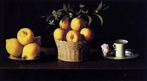 Francisco Zurbaran - Still Life with Lemons, O..