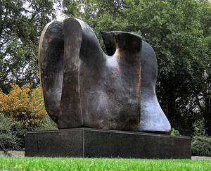 Henry Moore - Knife Edge – Two Piece