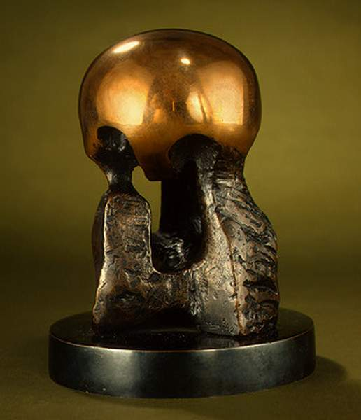 Maquette for, Atom Piece by Henry Moore (1898-1986, United Kingdom) | Painting Copy | ArtsDot.com