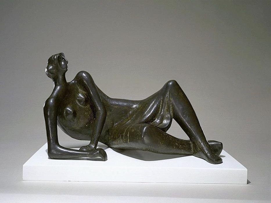 Reclining Figure No. 4, Sculpture by Henry Moore (1898-1986, United Kingdom)