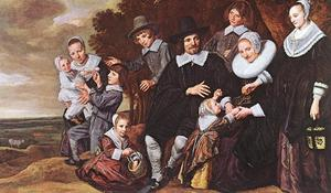 Frans Hals - Family Group in a Landscape