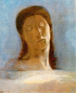 Odilon Redon - Les yeux clos (Closed Eyes)