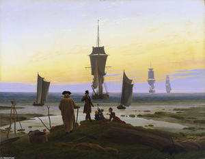 Caspar David Friedrich - The Stages of Life (Die L..