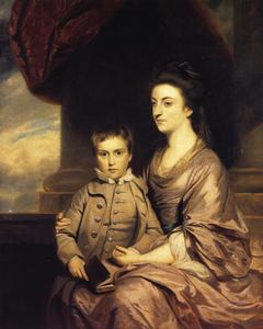 Joshua Reynolds - Elizabeth, Countess of Pembroke and Her Son
