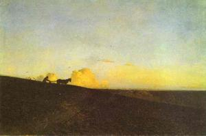 Isaak Ilyich Levitan - Evening in the field