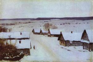 Isaak Ilyich Levitan - Village in Winter