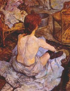 Henri De Toulouse Lautrec - The Toilette