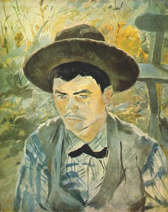 Young Routy, Oil by Henri De Toulouse Lautrec (1864-1901, France)
