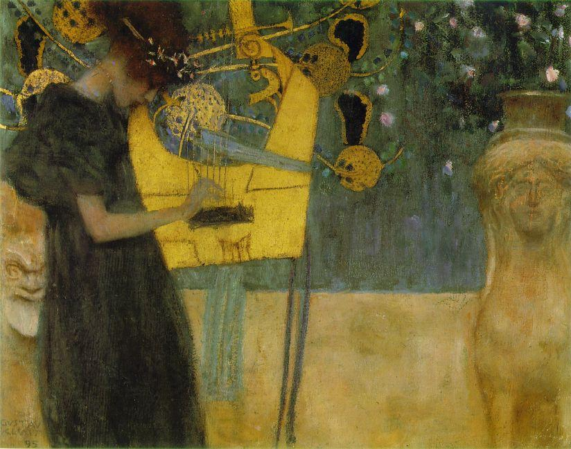 Music I, 1895 by Gustav Klimt (1862-1918, Austria) | Art Reproduction | ArtsDot.com