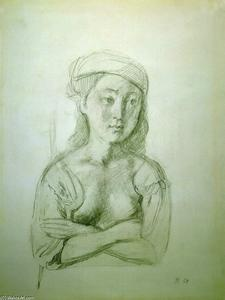 Balthus (Balthasar Klossowski) - Girl with a Beret
