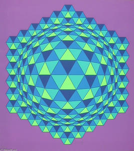 Victor Vasarely - Sharp