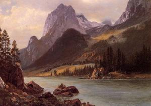 Albert Bierstadt - Rocky Mountain I