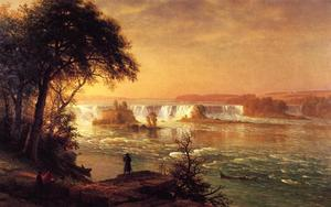 Albert Bierstadt - The Falls of St. Anthony