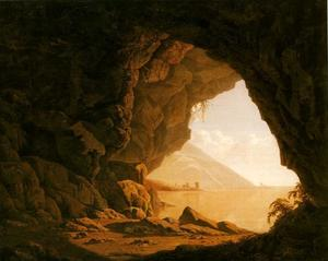 Joseph Wright Of Derby - A Cavern, Morning