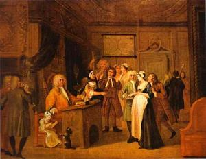 William Hogarth - The Denunciation