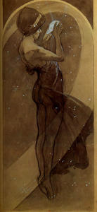 Alphonse Maria Mucha - North Star