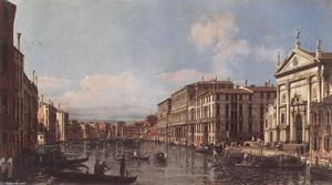 Bernardo Bellotto - View of the Grand Canal a..