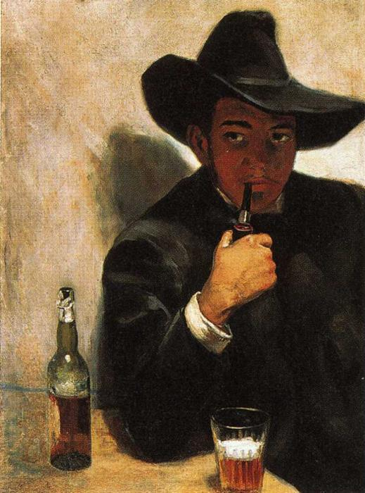 Self-Portrait, Oil On Canvas by Diego Rivera (1886-1957, Mexico)