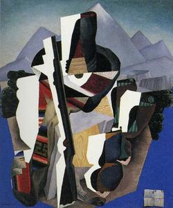 Diego Rivera - Zapatista Landscape - The Guer..