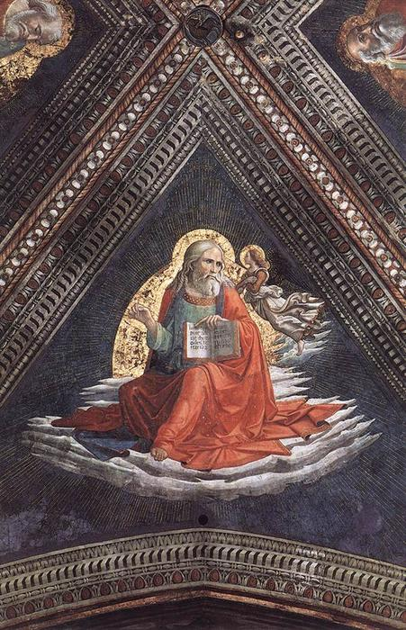 St Matthew the Evangelist, 1486 by Domenico Ghirlandaio (1449-1494, Italy) | Museum Quality Reproductions | ArtsDot.com