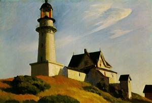 Edward Hopper - Lighthouse at Two Lights