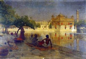 Edwin Lord Weeks - The Golden Temple, Amrits..