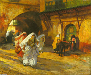 Frederick Arthur Bridgman - In the Souk