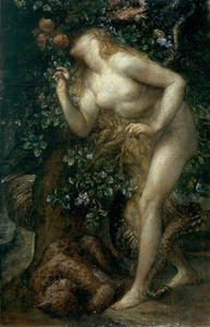 George Frederic Watts - Eve Tempted