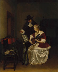 Gerard Ter Borch - Music Lesson