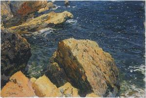 Joaquin Sorolla Y Bastida - Rocks of the Cape, Javea