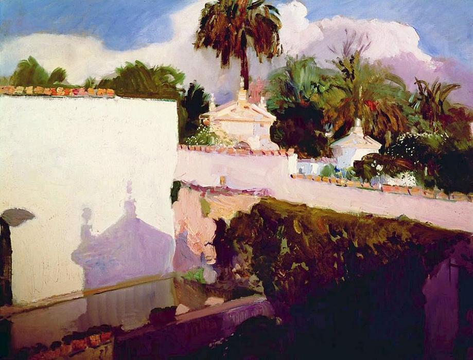 The Alcazar by Joaquin Sorolla Y Bastida (1863-1923, Spain) | ArtsDot.com