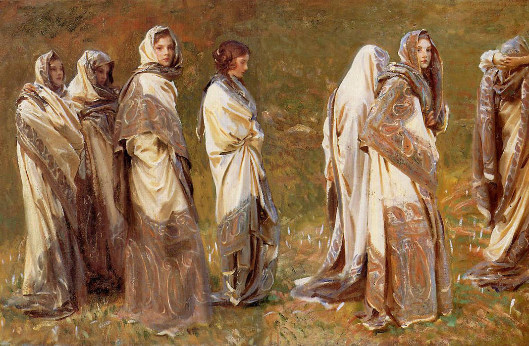 Order Reproductions | Cashmere, 1908 by John Singer Sargent (1856-1925, Italy) | ArtsDot.com