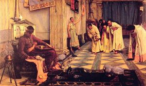 John William Waterhouse - The Favourites of the Emperor Honorious