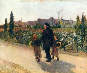 Jules Bastien Lepage - All Souls- Day