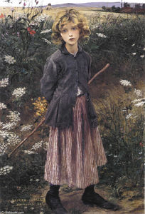 Jules Bastien Lepage - Young Girl