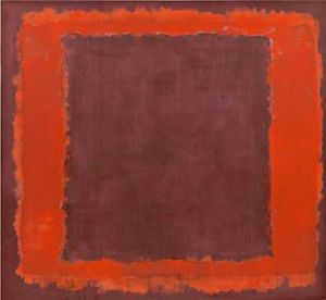 Mark Rothko (Marcus Rothkowitz) - Maroon and Orange