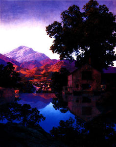 Maxfield Parrish - The Millpond