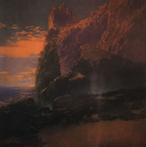 Maxfield Parrish - The Tempest