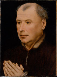 Robert Campin (Master Of Flemalle) - Man in Prayer