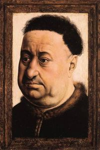 Robert Campin (Master Of Flemalle) - Portrait of a Fat Man