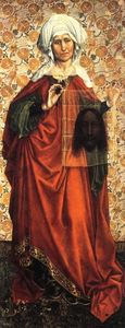 Robert Campin (Master Of Flemalle) - St Veronica