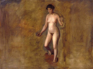 Thomas Eakins - William Rush's Model