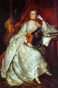 Thomas Gainsborough - Mrs. Philip Thicknesse, nee Anne Ford