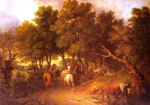 Thomas Gainsborough - Pesants Returning from Market