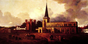 Thomas Gainsborough - St. Mary-s Church Hadleigh