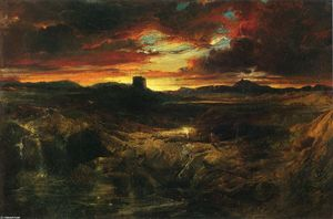Thomas Moran - Childe Roland to the Dark Tower Came